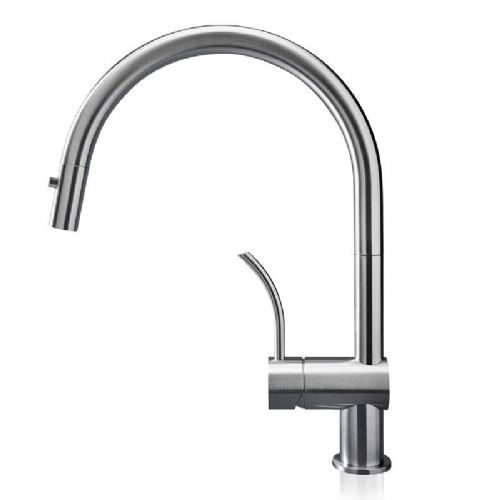 MGS Vela PD Stainless Steel Kitchen Tap